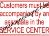 service-center-sign