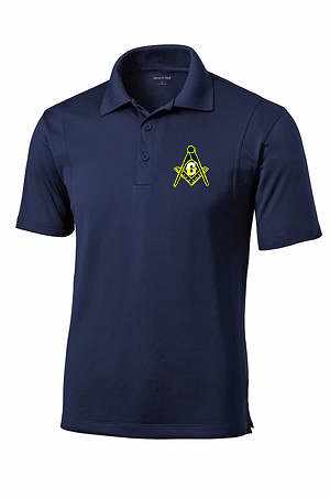 Masons Dri Fit Polo Master Mason Jim Wagner Signs